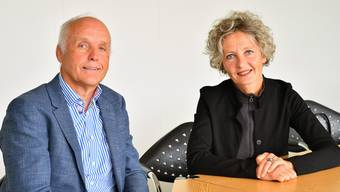 Friedenrichter unter sich: Gerhard Reinmann hat sein Amt Ende September an Catherine Müller weitergegeben.