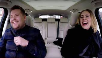 "Adeles ""Carpool Karaoke"" Session war 2016 weltweit das beliebtsteste YouTube-Video. (Screenshot)"