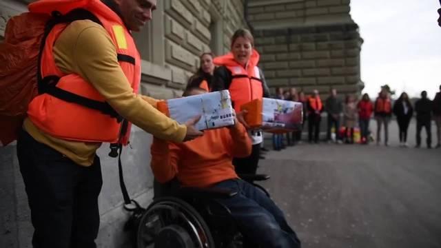 """Petition für humanitäres Hilfsschiff """"Aquarius"""" eingereicht"""