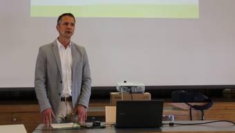Gemeindepräsident Christian Schlatter.
