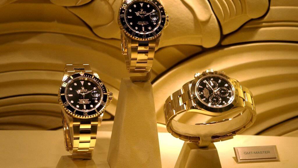 Chronext vertreibt online Luxusuhren unter anderem von Rolex, Breitling oder Omega. (Symbolbild)