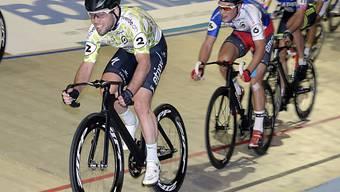Der Brite Mark Cavendish (l.) wird von der Konkurrenz gejagt