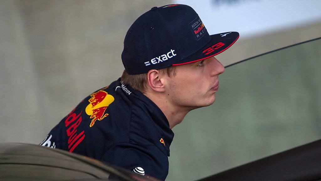 Max Verstappen sicherte sich seine erste Pole-Position in der Formel 1