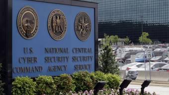 Vor dem Gebäude der NSA in Fort Meade (Symbolbild)