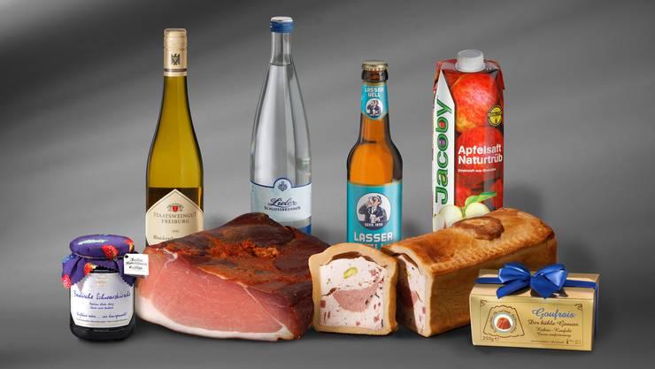 Acht Produkte aus Südbaden gehören zum «Badischen Einkaufskorb».