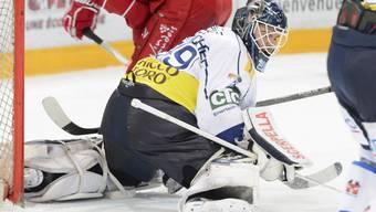 Sandro Zurkirchen wehrte mehr als 90 Prozent der Schüsse der Slowaken ab.