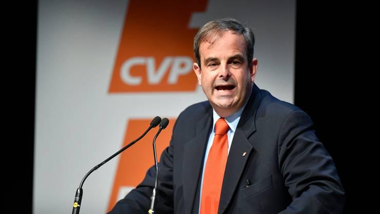 CVP-Präsident Gerhard Pfister will die Amtsdauer von Bundesräten auf acht Jahre beschränken. Seine eigene Bundesrätin Viola Amherd ist erst seit einem Jahr im Amt.