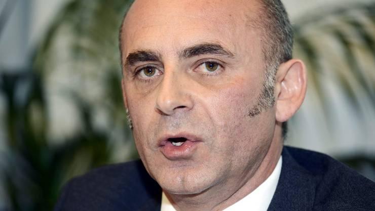 Roberto Martullo versprach der Gemeinde Erlenbach nachträgliche Steuern.