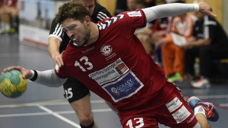 Marius Moser avancierte nach auskurierter Schulterverletzung zum besten Toschützen.