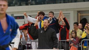 Die Brugger um ihren Trainer Martin Nietlispach konnten sich gegen Uster behaupten.