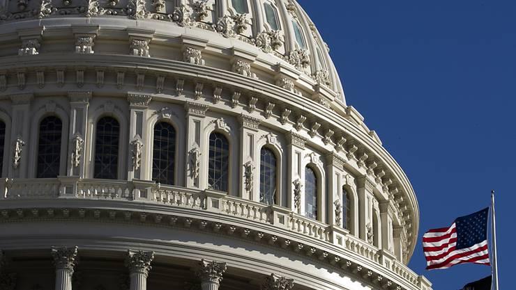 Schauplatz der Impeachment-Auseinandersetzung um Präsident Trump: the Capitol of Washington, Parlamentsgebäude der USA und damit auch Sitz des Senats.