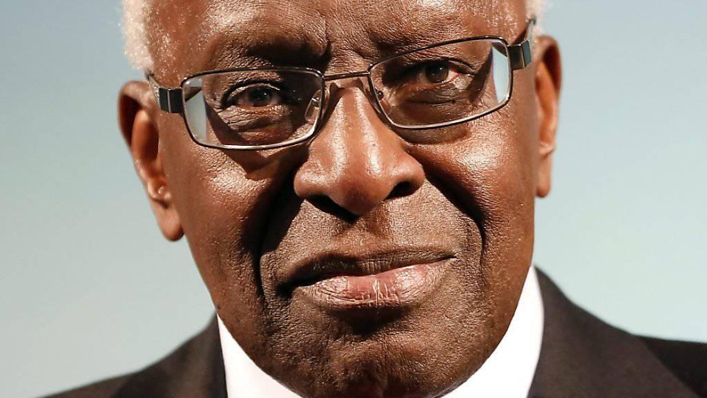 Steht unter Korruptionsverdacht: der ehemalige IAAF-Präsident Lamine Diack aus Senegal