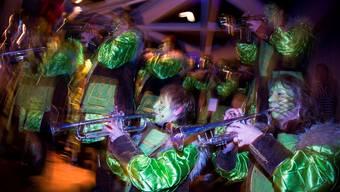 Die Selzacher Fürobe-Blooser spielten gross auf und begeisterten das zahlreich erschienene Publikum.