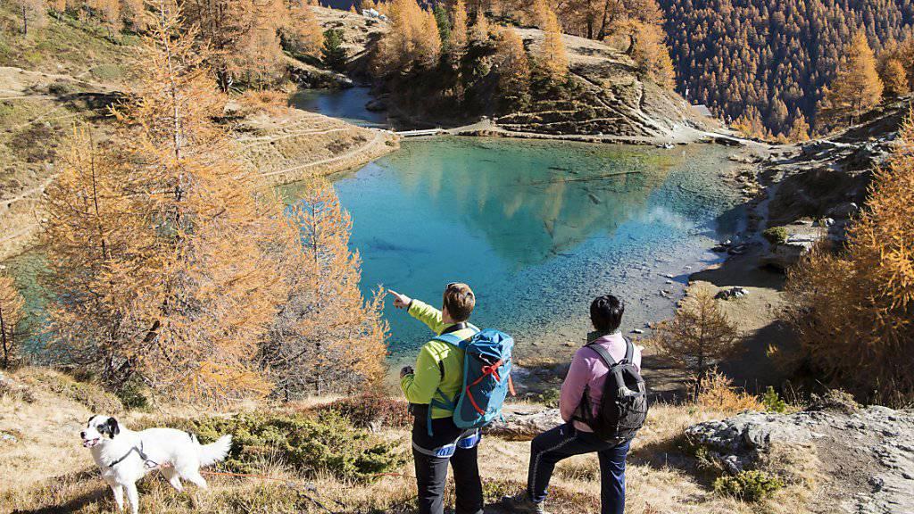 Der Herbstsaison kommt für den Schweizer Tourismus vermehrt eine stabilisierende Wirkung zu. (Symbolbild)