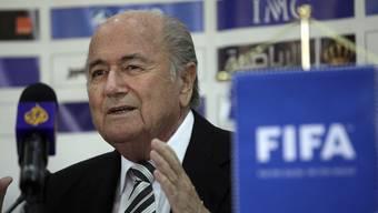 Noch nicht Amtsmüde: Fifa-Präsident Sepp Blatter