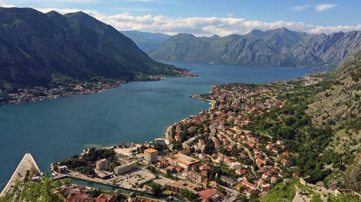 Hafenstadt Kotor an der Adriaküste, Montenegro