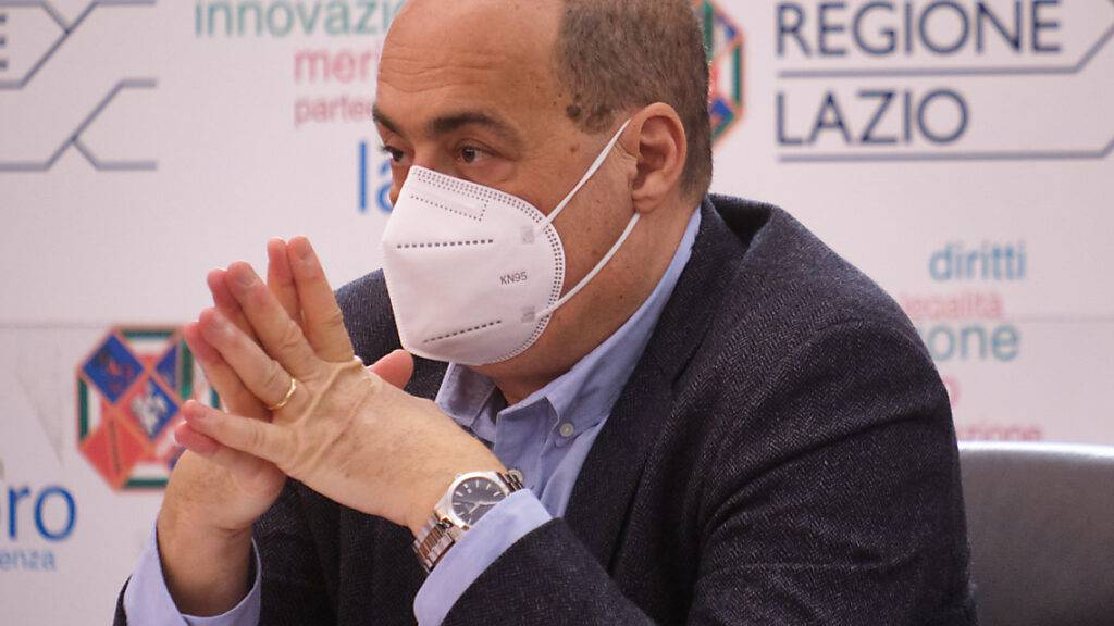 Nicola Zingaretti, der Präsident der Region Latium und Vorsitzender der italienischen Demokratischen Partei, hat seinen Rücktritt als Vorsitzender angekündigt. Foto: Mauro Scrobogna/LaPresse via ZUMA Press/dpa
