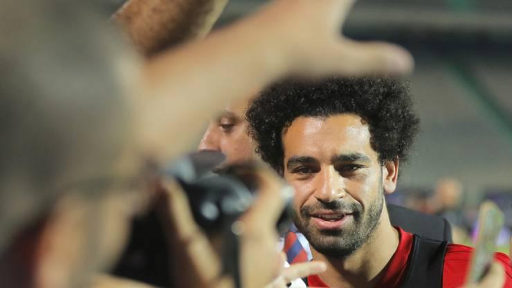 Hat sich von Twitter, Instagram und Co. verabschiedet: Mo Salah.