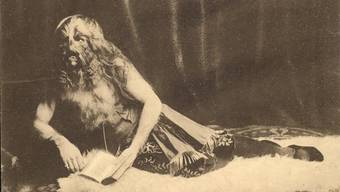 Der 16-jährige Stefan Bibrowski 1906 am Münchner Oktoberfest.