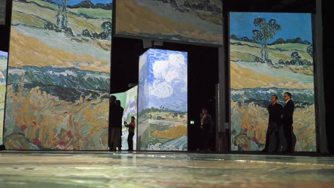 """Van Gogh Alive"" in Zürich"