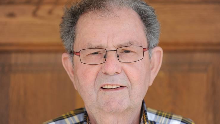Viktor Kissling, seit 1978 Mitglied des katholischen Kirchgemeinderates in Wolfwil, er wurde nun geehrt.