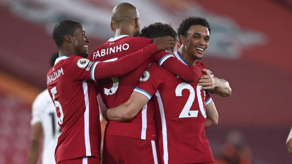 Liverpool schliesst zur Spitze auf