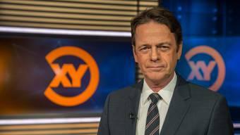 Rudi Cerne moderiert «Aktenzeichen XY» im Deutschen Fernsehen.