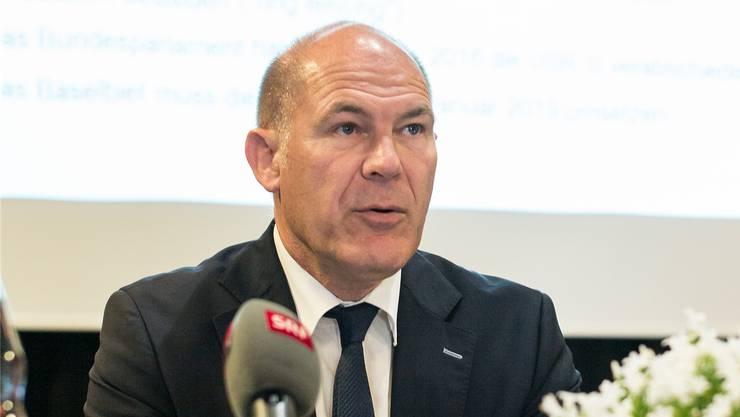 Finanzdirektor Anton Lauber