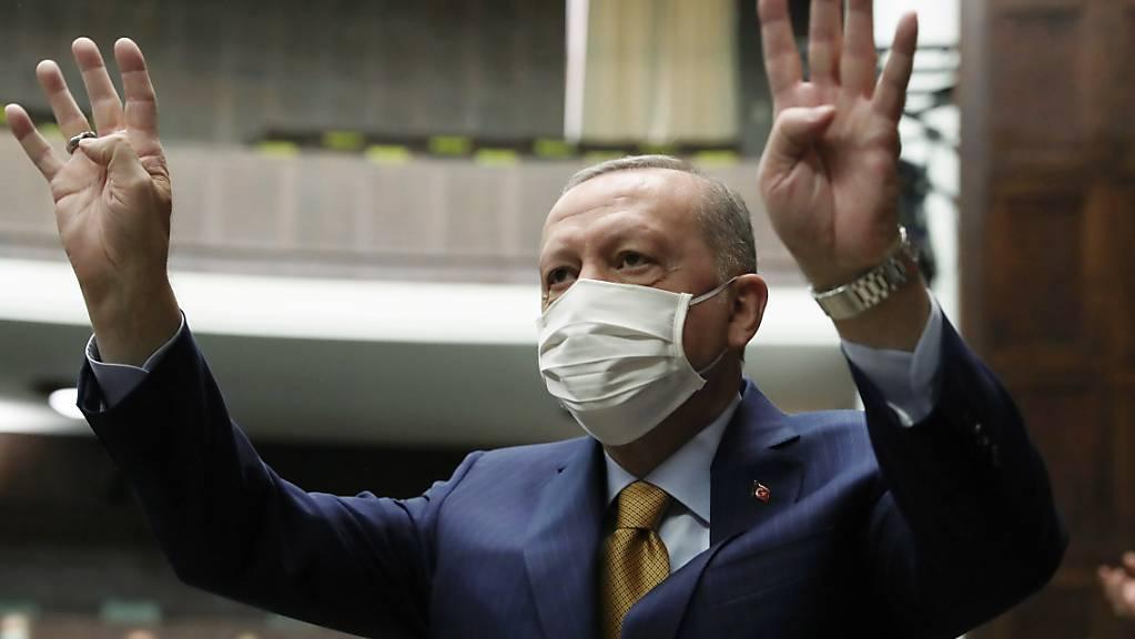 Recep Tayyip Erdogan, Präsident der Türkei. Foto: Uncredited/Turkish Presidency/AP/dpa