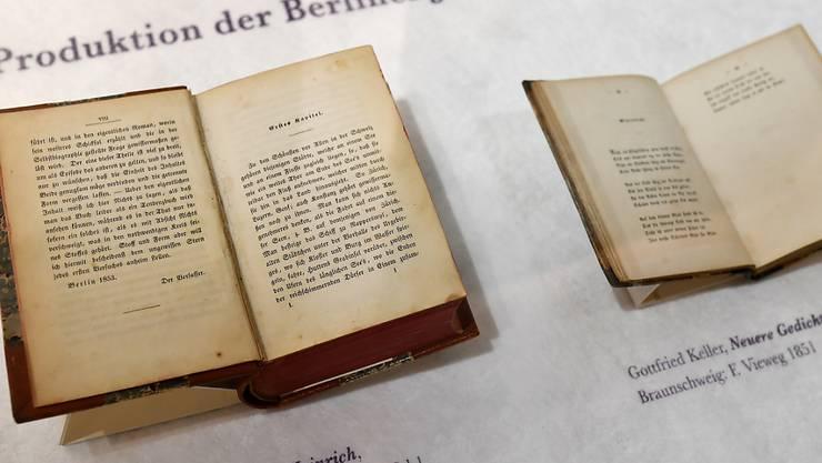 Strauhof Zeigt Gottfried Keller Als Romantiker Und Als