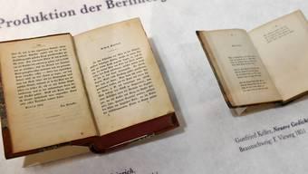 """Zählt zu Gottfried Kellers bekanntesten Werken: """"Der grüne Heinrich"""". (KEYSTONE/Walter Bieri)"""