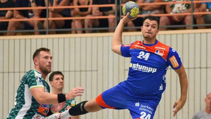 HSC-Neuverpflichtung Diogo Abreu Oliveira (r.) wartet noch auf seine Spielberechtigung.