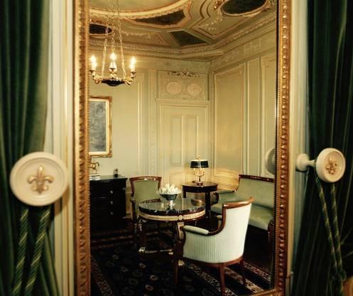 Ein begehrenswertes Hotel: Die Napoleon-Suite im Basler Trois Rois.