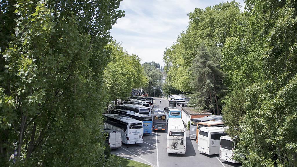 Mehr Bäume und weniger Parkplätze für Luzerns linkes Seeufer