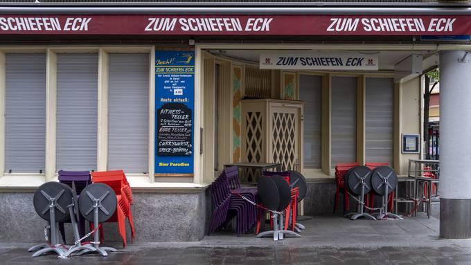 Viele Geschäfte und Restaurants waren vom Lockdown extrem stark betroffen.