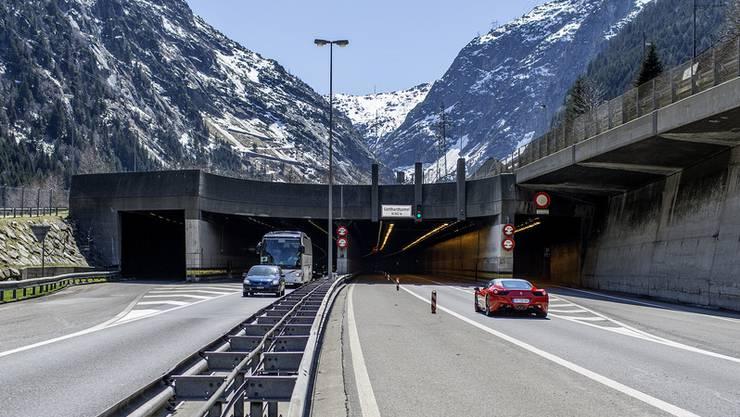 Der Verein will eine zweite Gotthardröhre verhindern. (Archiv)