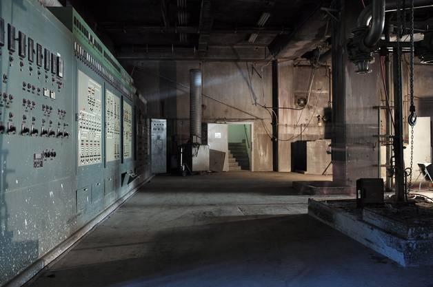 Besichtigung der Papierfabrik Zwingen mit Künstlern im Rahmen des Projekts «Living Memory».(20.10.2014)