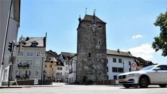 Die Neugestaltung der Vorstadt ist seit Jahren ein Thema in Brugg. Am vorgesehenen Bodenbelag im Bereich der alten Aarebrücke, eine Pflästerung, schieden sich die Geister im Einwohnerrat.