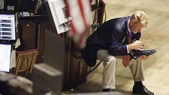 Berg und Talfahrt an der Wall Street