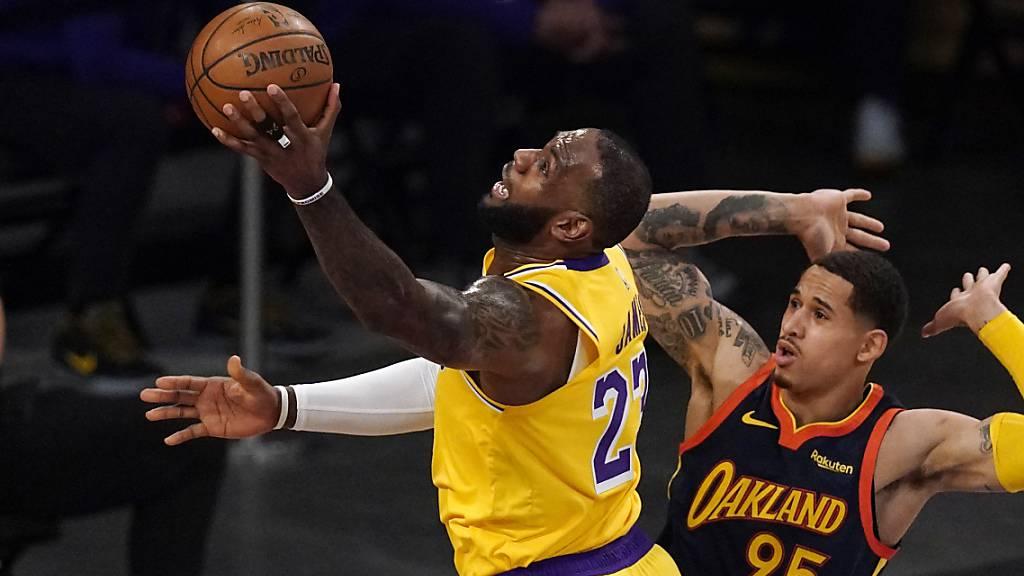Einmal mehr entscheidend für die Los Angeles Lakers: LeBron James