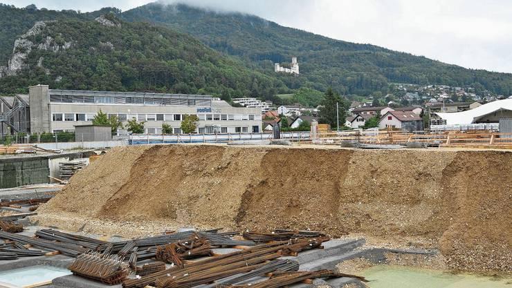 Im Leuenfeld wird gebaut: Allerdings nicht für den Zweckverband Sozialregion Thal-Gäu.