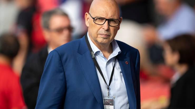 Nur noch bis Ende Saison im Amt: Xamax-Präsident Christian Binggeli.