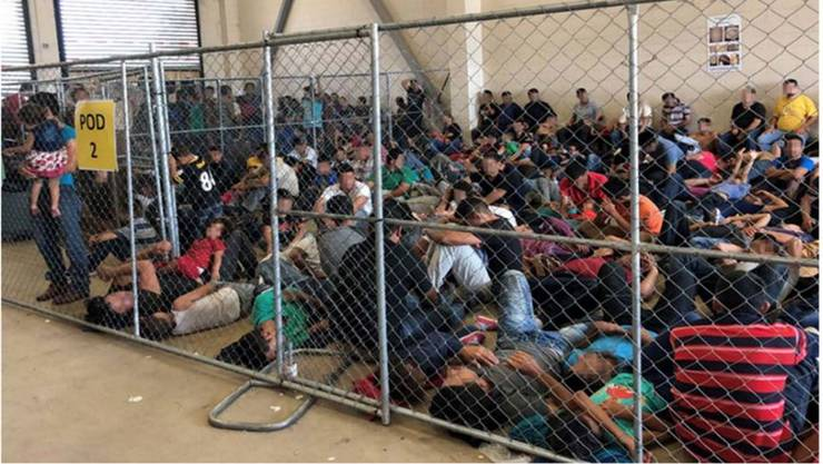 Die Auffanglager an der Grenze zu Mexiko sind heillos überfüllt, oft fehlt es an Duschen und Kleidern. Jetzt schlägt die US-Aufsichtsbehörde Alarm.