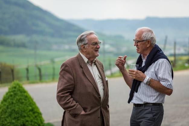 AZ Jasskönig im Weingut Fürst in Hornussen. Aufgenommen am 4. Mai 2018 in Hornussen.
