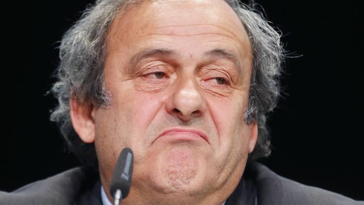 Michel Platini hat am Montag vor dem Fifa-Berufungskomitee ausgesagt.