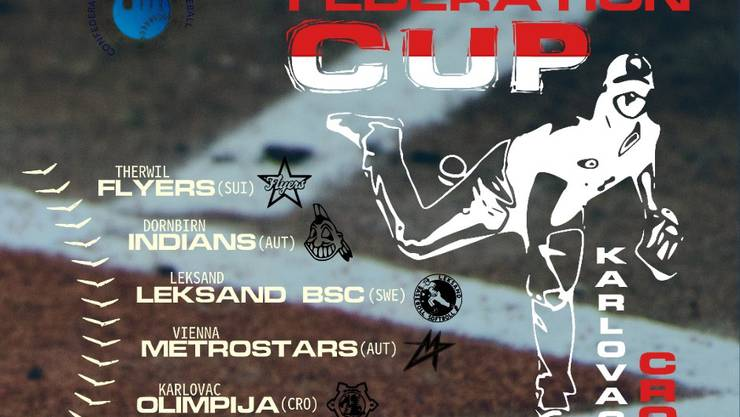 Federations Cup - Plakat