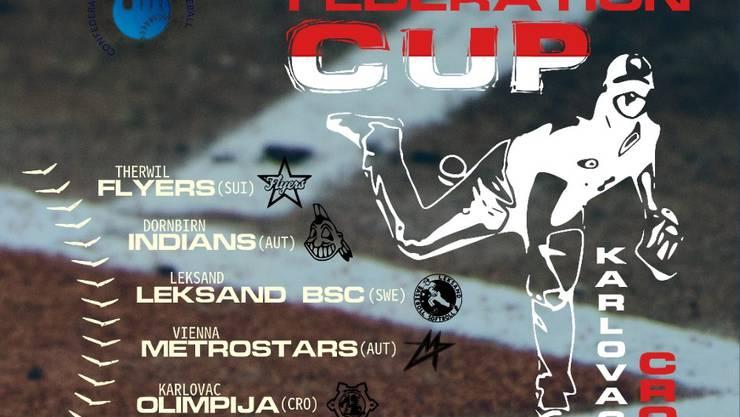 Federations Cup - Plakat