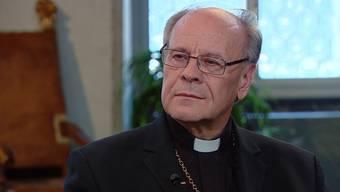 Schweigt sich aus: Bischof Vitus Huonder im «SommerTalk»