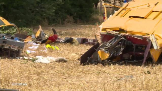 Kleinflugzeug in Bern-Belp abgestürzt