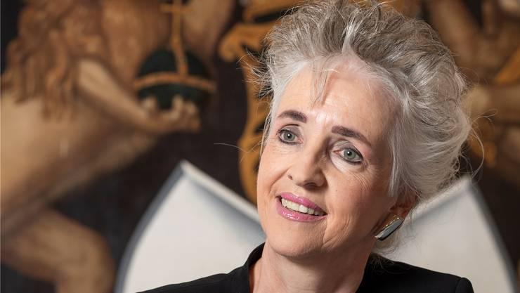 Die Zürcher Regierungsrätin Carmen Walker Späh sieht das Volks-Ja zur Limmattalbahn vom Sonntag als positives Zeichen.
